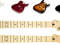 Real Fender Necks   and Bodies   now in stock!    From