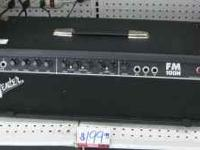 Up for sale is a Fender Head model FM 100H and a Fender