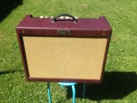LIMITED EDITION Wine Red just 70 made! Fender Hot Rod