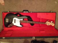 I have a Fender Jazz Bass for sale. Extremely stylish