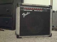 "Fender M80 combo amp w/ 1 12"" speaker in cab, for"