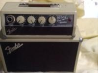 Fender mini tone maker in good condition This ad was
