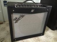 For sale is a fender mustang II amp with customized amp