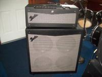I have a Fender Mustang V Halfstack for sale it is in