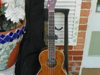 Fender Nohea Tenor Ukulele Uke Natural Koa w / Bag