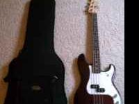 I have a Fender Standard P Bass that is the wine red