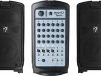 Fender Passport 300 Pro.  This system is made use of, I