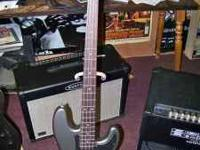 Fender Precision Bass by Squier. This is a very nice