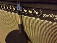 I'm publishing my 50 watt 1x12 Fender Pro Reverb.