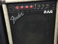 Outstanding vintage bass amp made in the gold ol UNITED