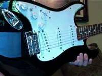 Here is a really cool guitar. It is a MIM Fender