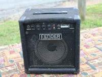 Bass Amp for sale. Need quick sale. Sale price