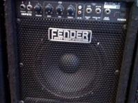 Fender Rumble 25 Bass Amp  Features: Ported speaker cab