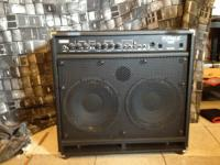 Fender Rumble 350 Bass Amp Combo. 350 watts @ 4ohms