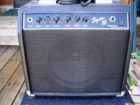 Fender Squier 15 amp works perfect call  Location: