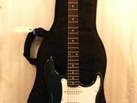 This listing is for a Blue Fender Squier Bullet