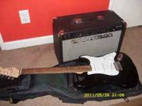 for sale 1 fender squier strat and rocktron rampage