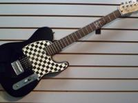 FOR SALE: FENDER SQUIRE AVRIL LAVIGNE EDITION
