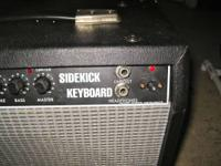 This is a Fender Squire amp, with an input for