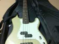 I have a Fender Squire Prec bass that i have played