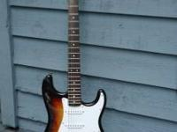Fender Squire Strat Sunburst - This is a killer little