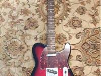 Like new Fender Squier Telecaster Standard with soft