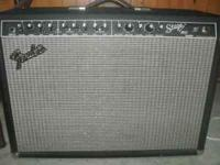 I am selling this Fender Stage 160 DSP amp. This solid