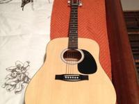 I am selling a guitar that I have used really bit.