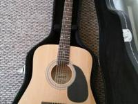 I have a like-new Fender Starcaster Acoustic guitar