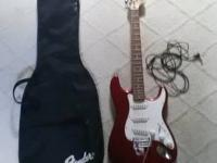 I am offering a Fender Strat Squier Affinity Series