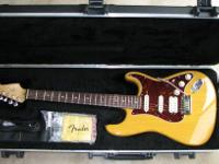 Fender stratocaster electric guitar, works perfectly