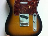 I have a Tele for sale. It is a Mexican Fender Tele