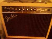 Owned only 3 months, 15 watt Class AB tube amp w DSP,