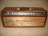 Fender Super Sonic 60 Head/Combo, ALL TUBE. Ok this is