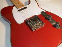 FENDER TELECASTER MADE IN MEXICO! Red Fender