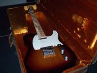 fender telecaster standard electric guitar starburst finish for sale in nacogdoches texas. Black Bedroom Furniture Sets. Home Design Ideas