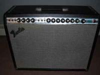 Excellent shape sounds like a Twin Reverb,this is from