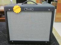 I am selling a used electric guitar amplifier today