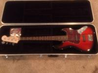 I've got a Fender Vintage Modified Squire Jazz Bass in