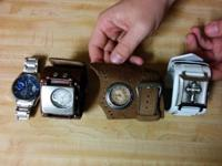 US Polo watch - $25 OBO  Fender watches (leather)  -