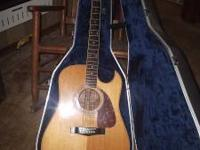 Fender F-270 sce guitar for sale. Rosewood body with