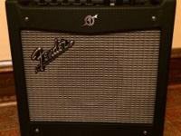 Fender Mustang I Guitar Combo Amplifier.  Call Pat