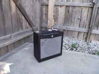 Fender Mustang II Guitar Amp. New Condition. Includes