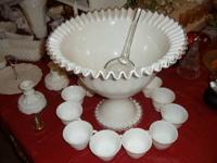 Large collection of Fenton Glass. Pre and post logo,