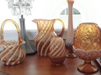 Beautiful Fenton Glassware set which was originally