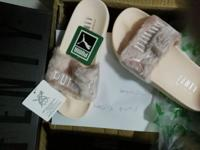 Brand New Rihanna Slides for sell Price is Firm $99