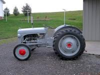 Ferguson TE-20 tractor. $2,500. New paint, good rubber