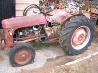 Ferguson TO-30 Tractor. Not running. Starter, and