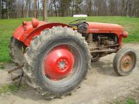1950's Ferguson TO30 tractor. 6 volt system. Tractor in