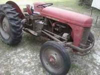 I have a 1952? (I think) Antique TO30 Ferguson Tractor